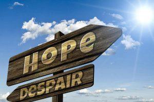 Depression laeds to hopelessness